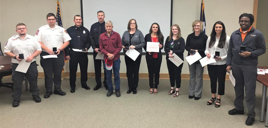 Athens Life Saving Award