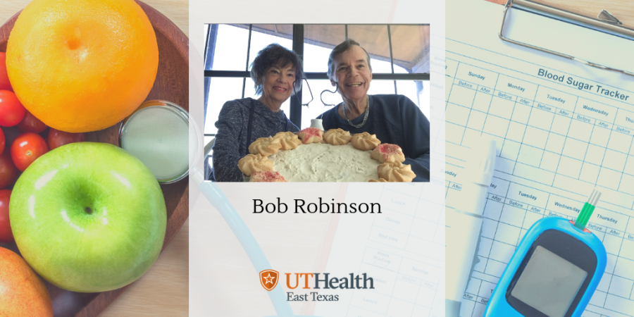 Read how Bob Robinson's diabetes diagnosis led to a healthier life