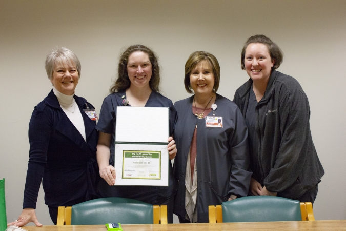 Rebekah Hill of UT Health Rehabilitation Hospital wins DAISY award for service