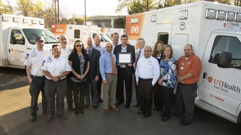 UT Health EMS Earns Reaccreditation