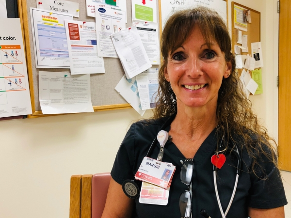 Registered Nurse Margie Smith's own health journey led her to become a nurse
