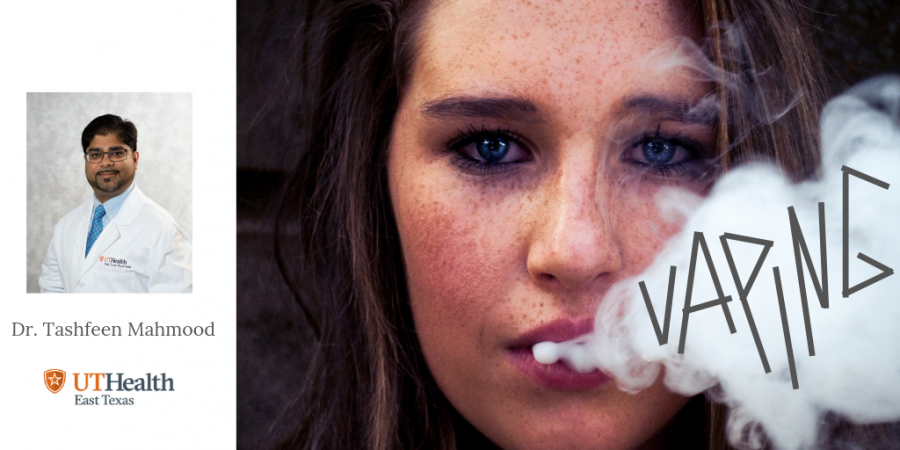 Learn how vaping can be damaging to a teen's health
