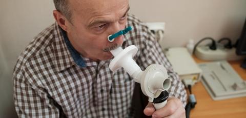 Pulmonary function testing (PFT)